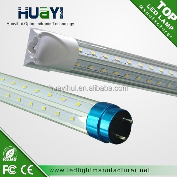 high Brightest & Beam angle 0.3m~2.4m 2ft~8ft LED V Tube G13 360 degree LED T8 Tube R17D, FA8 single pin, Big sale in the US
