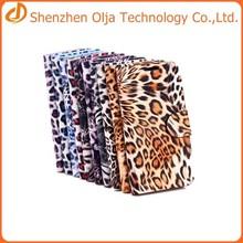 Leopard print flip leather case for samsung galaxy s5,for samsung galaxy s5 case manufacture
