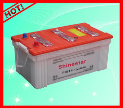 DIN 210ah dry charged battery car battery 71014