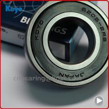 Best selling original Japan koyo deep groove ball bearing 6001