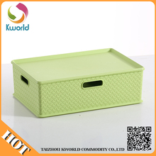 Newest design top quality colorful household pp storage
