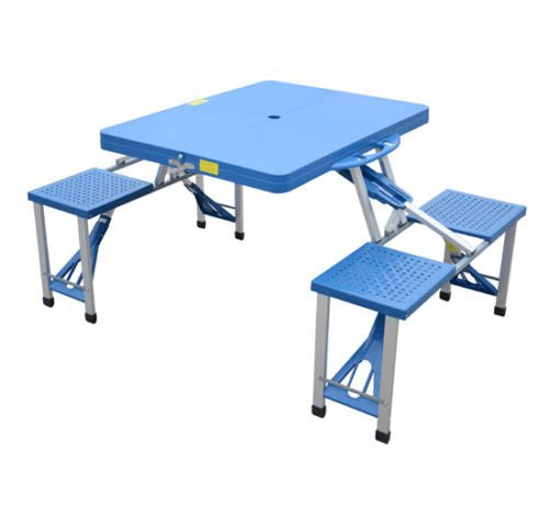 Low Price Plastic Folding Foldable Table Top And Chair Of Dining In China B