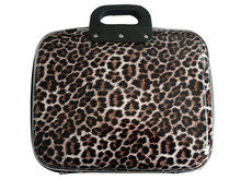 leopard 14 inch EVA factory laptop sleeve bag