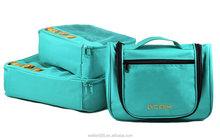 Packing Cubes Toiletry Bag Travel Luggage Organizer Kit