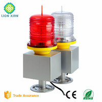 Aviation safety GSM telecom tower warning light