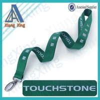 Online shopping christmas gifts Advertising flat cheap polyester printed lanyard