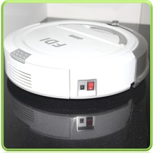 Large Suction Power Intelligent Automatic Robot Vacuum Cleaner with 1800mAH Battery and Voice function