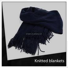 Popular Adult Fleece Knitted Blankets