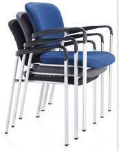popular hot sale office and school folding training wooden chair with writing pad