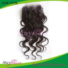 Lace Top Closure Body Wavy Human Hair Pieces Alibaba French