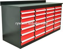 Alta calidad fuerte rojo cajón con cerradura para reparación y garaje utilizando