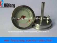 /asador del horno/parrilla bi - termómetro de metal