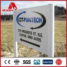 3mm UV digit printing aluminum composite panel/signage board/sign panel/signboard