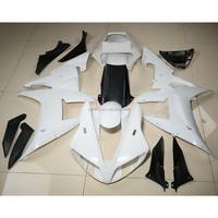 ABS Fairing Cowl Kit Bodywork For YAMAHA YZF R1 YZF-R1 2002 2003 Unpainted White