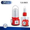 YAJIA YJ-5853 1W+24SMD Rechargeable Lantern/radio lamp/led flashlight