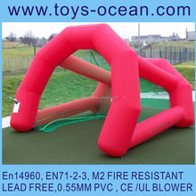 inflatable golf target tent ,inflatable golf goal ,small inflatable tent for golf game