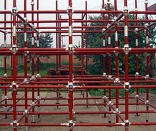 steel construction used cuplock scaffolding made in china