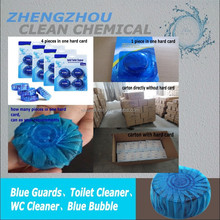 50g blue toilet bowl cleaner/cleaner flush block 4 functions