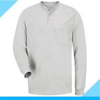Men henley long sleeves t shirts wholesale