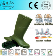 Scientific Research Men Rain Boots Cheap Safety Gumboots