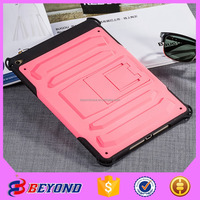 Welcome Order drop proof stand Mobile Phone Case/Shell ,Used PC TPU Material funky case for iPad 6