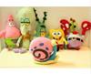 Spongebob send big star crab boss octopus plush toys