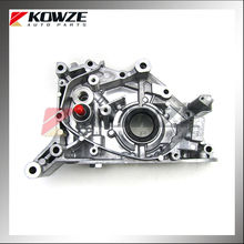 Front Cylinder Block Case Oil Pump for Mitsubishi Pajero Sport Pickup Triton L200 KH4W KG4W KA4T KB4T 4D56 4M40 1064A035
