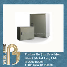 Sheet metal fabrication service customized painted metal box, electronic enclosures