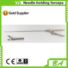 laparoscopic needle holder/straight head/curved head