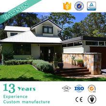 BAOSUN IPREFAB ANTI Eearthquake Prefabricated villa with light gauge steel structure