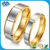 Wholesale Costume Jewelry 2015 Fake Gold Ring 18K
