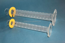 measuring cylinder with glass hexagonal base