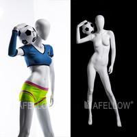 FTF3 EG shop fitting female sports soccer mannequin