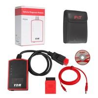 VDM UCANDAS ECU/DTCs/Data Stream Scanner V3.8 WIFI Full System Automotive Diagnostic Tool UCANDAS VDM Diagnostic Include Adapter
