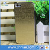 Luxury goldern style flip case for iphone 5s with open view window