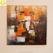Abstract color on canvas living room oil painting