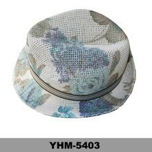 printing pattern adults floral straw raffia fedora hats new hats 2014