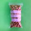 clear ldpe dampproof & waterproof zipper bags for dried fruit packaging