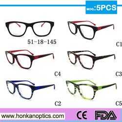 Frames Eyeglass Retro Men Women clear Designer Eyewear Frame Optical Computer Eye Glasses Frame HKC150006