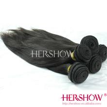 Brazilian human hair sliky straight natural black color hair 30cm 50cm 80cm