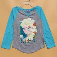 T Shirt Wholesale China Frozen Childrens Long Sleeve T shirt
