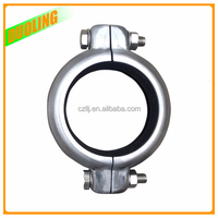 high strength stainless steel 316L pipe clamp with best price