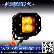 AURORA 2inch Amber mini off road led tail light motorcycles light