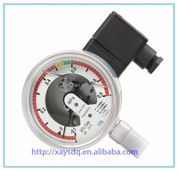 China suppliers export stainless steel structure sf6 bourdon tube pressure gauge have customize service