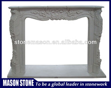 High quality beautiful freestanding fireplace mantle