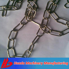 DIN5685 G80 short or long link chain standard galvanized stainless steel link chain