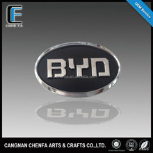 Famous ABS plastic chrome plated car grille emblem badge brands names logos stickers