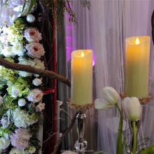 Romantic Ivory LED Wedding Candle, Wedding Favors, Wedding Decoration on Dining Table
