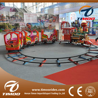 Plaza amusement train rides forest train kids rides on train game for adult and children
