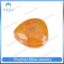 wholesale CZ pear shape CZ jewelry zirkon